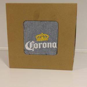 Corona Beer Woven Beach Blanket NIB